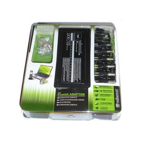 Chargeur universel PC portable laptop - 70W - 12V à 24V