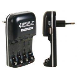 Chargeur rapide intelligent NiMh USB