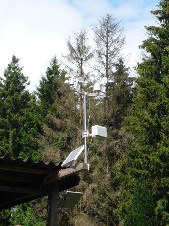 station météo solaire
