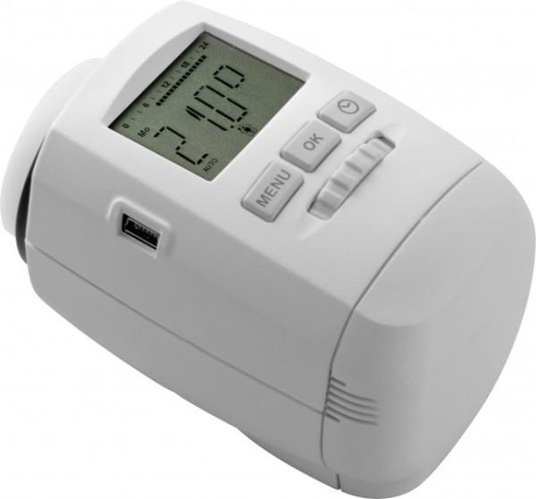 R gulation de chauffage par pi ce vanne lectronique - Vanne thermostatique radiateur ...