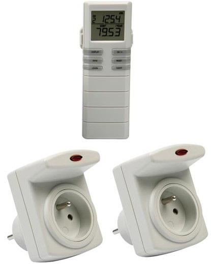 économètre wattmètre radio à distance