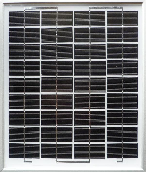 Panneau photovoltaïque monocristallin 10W