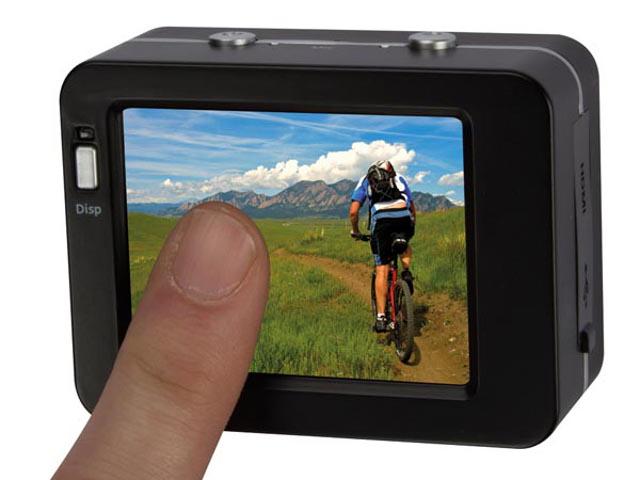 caméra de sport à écran tactile