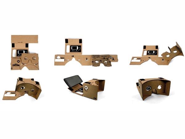 Google Cardboard montage