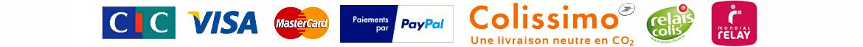 Nos moyens de paiements et de livraison
